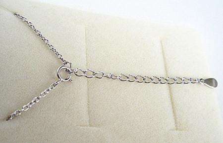 新品 ダイヤモンド ミニリング ネックレス_画像4