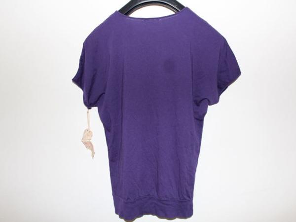 キャメロンハワイ Cameron Hawaii レディース半袖Tシャツ パープル Mサイズ 新品_画像4