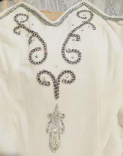送料無料♪大人Lバレエ舞台衣装♪白いお姫様系♪8層チュチュ♪L_画像2