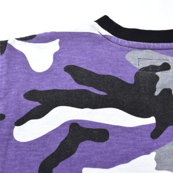 【16AW・16FW】Supreme シュプリーム R.I.P. L/S Tee Purple Camo パープルカモ 迷彩 M 長袖Tシャツ_画像5