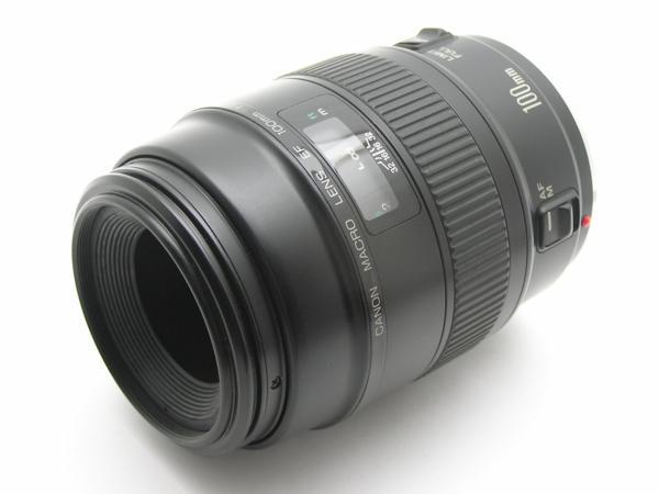 ★ハロ-カメラ★5692 Canon MACRO EF(100mm F2.8)動作品 要清掃_画像2