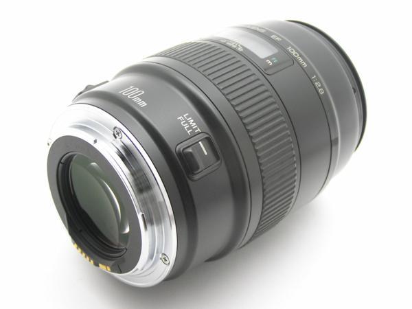 ★ハロ-カメラ★5692 Canon MACRO EF(100mm F2.8)動作品 要清掃_画像8