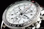 1円 セイコー 海外 ソーラー 白 ホワイト 【PROSPEX(プロスペックス)】 アラーム クロノグラフ 本革ベルト パイロット 腕時計