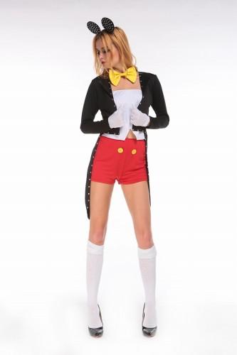 燕尾 ディズニー ミニー ミッキーコスチューム コスプレ衣装 ハロウィン 服 【 同梱可能 | 即納】 ディズニーグッズの画像