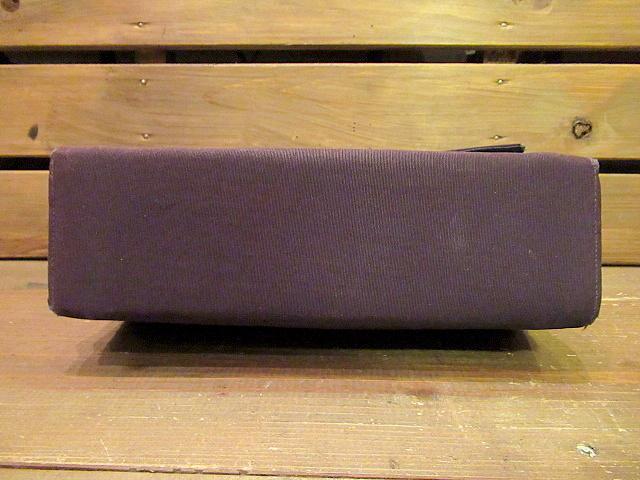 ビンテージ40's50's★ハンドイブニングバッグ 紫★30's60'sカバンレディースパーティー衣装古着卸_画像3
