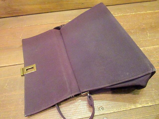 ビンテージ40's50's★ハンドイブニングバッグ 紫★30's60'sカバンレディースパーティー衣装古着卸_画像7