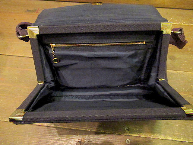 ビンテージ40's50's★ハンドイブニングバッグ 紫★30's60'sカバンレディースパーティー衣装古着卸_画像8