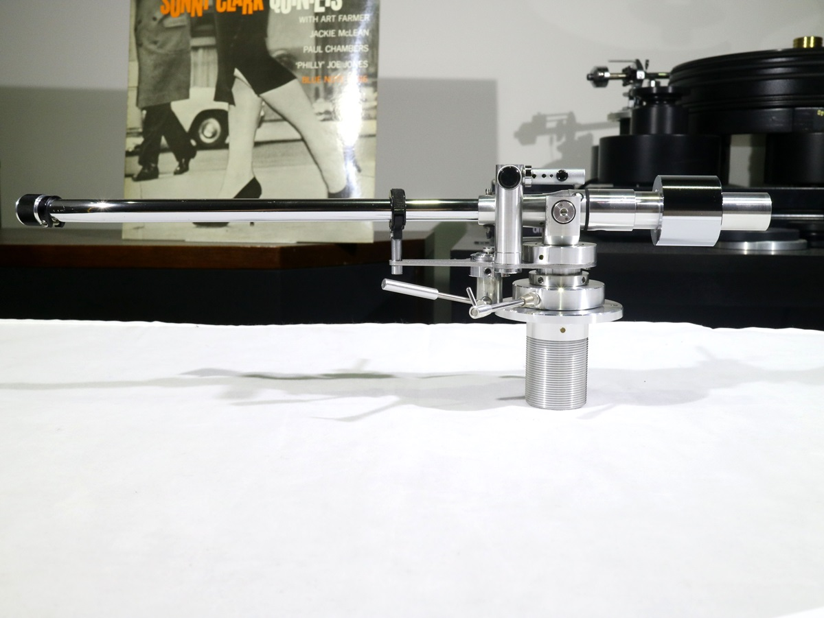 良品 MICRO MA-505L ロング トーンアーム サブウエイト/Phonoケーブル付属 Audio Station_画像2