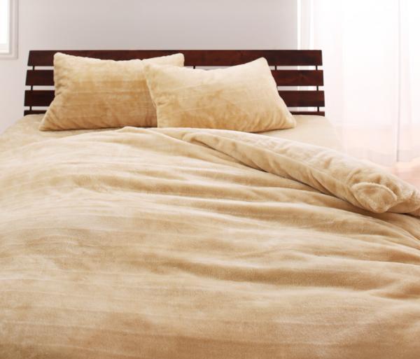 上質マイクロファイバー ベッド用 ボックスシーツ(マットレス用カバー)の単品 クイーン サイズ 色-ベージュ