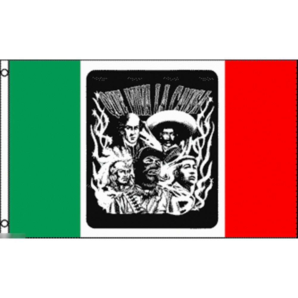 海外限定 国旗 メキシコ革命 特大フラッグ_画像1