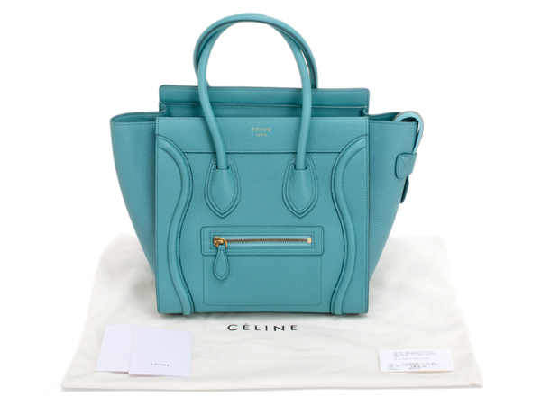 CELINE セリーヌ ラゲージ マイクロショッパー 167793A92.07AN 美品 正規購入【及川質店】送料無料_画像4