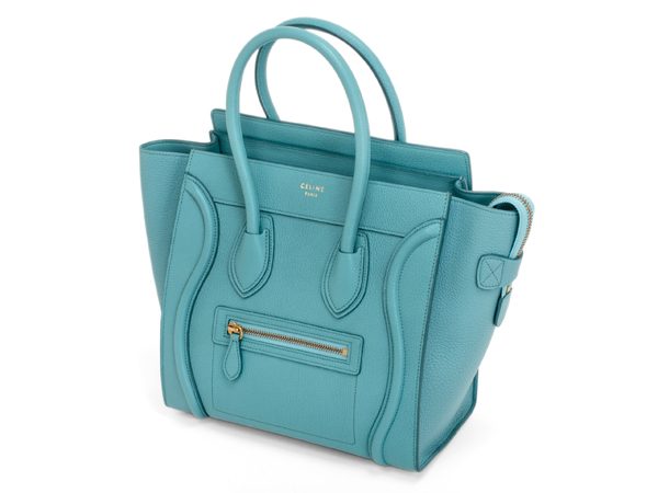 CELINE セリーヌ ラゲージ マイクロショッパー 167793A92.07AN 美品 正規購入【及川質店】送料無料