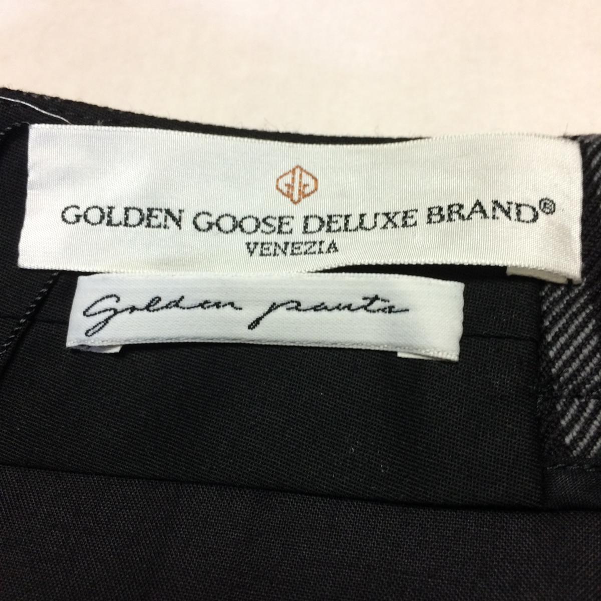 【新品】ゴールデングースデラックスブランド(GOLDEN GOOSE DELUXE BRAND) パンツ XS グレーチェック/01625_画像8