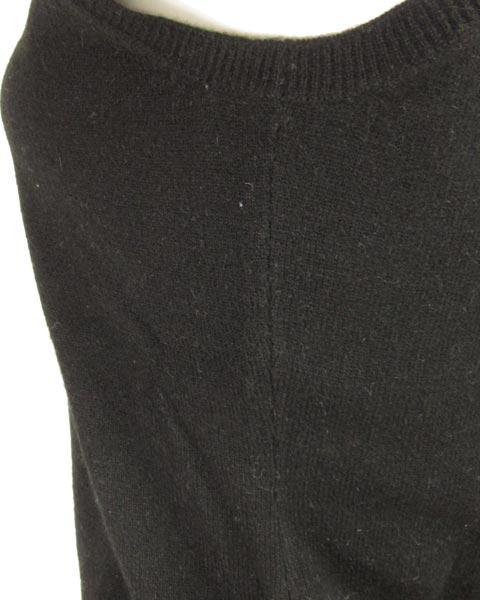 ダナキャランニューヨーク(DKNY)黒ノースリニットトップス P/S_画像5