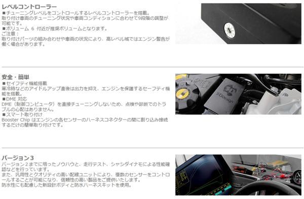 3Dデザイン ブースターチップ サブコン BMW Z4 E89 35i エンジン_画像5