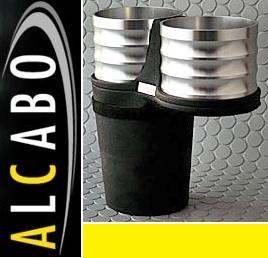 【M's】VW トゥーラン(03y-15y)ALCABO ドリンクホルダー Silver_画像1