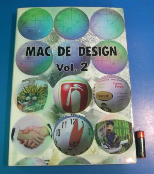 1996年 MAC DE DESIGN Vol.2 エージー出版 マックでデザイン_画像1