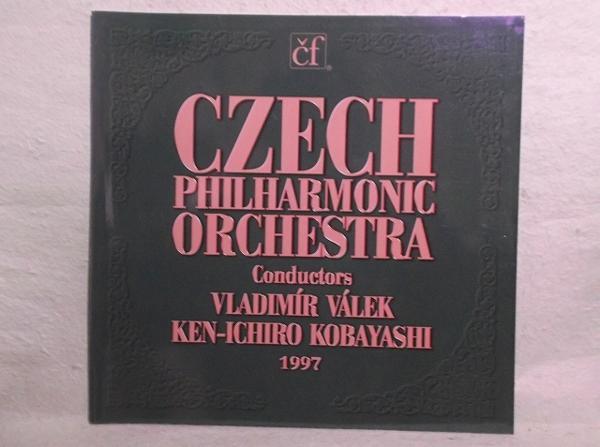 A-2【パンフ】チェコ・フィルハーモニー管弦楽団 1997