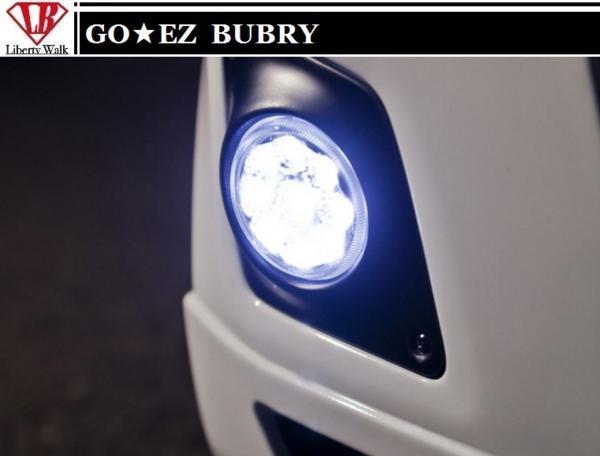 【M's】スズキ エブリィ DA64 DA17 BUBRY フロントバンパー専用 LED フォグ ランプ GO EZ Liberty Walk SUZUKI EVRY 17 エブリイ エブリー_画像1