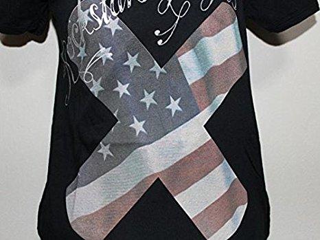 ロックスターズエンジェルス Rockstars&Angels レディース半袖Tシャツ 日本サイズS ブラック 新品 黒_画像2
