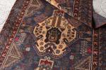 バルーチの代表作 手織り絨毯 198? アンティーク家具 ラグ アフガニスタン産 ビンテージ マジックカーペット インテリア アフガンGBRL6622