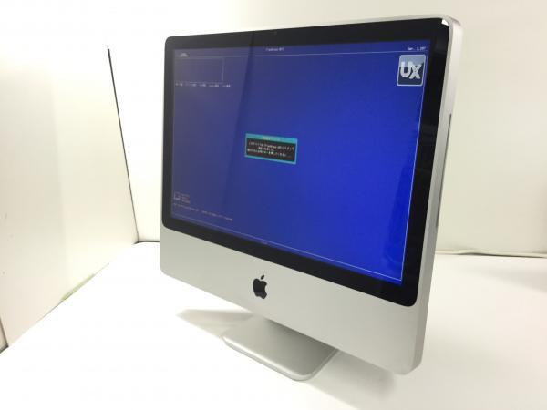 ジャンク!APPLE iMac 8.1 A1224●Core2Duo E8135 2.4G 5G 250G