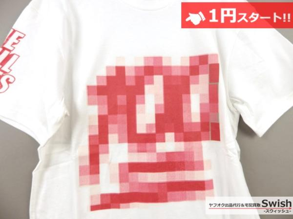 A895●Been Trill ビーントリル●新品 TEE モザイク Tシャツ L 白●_画像2
