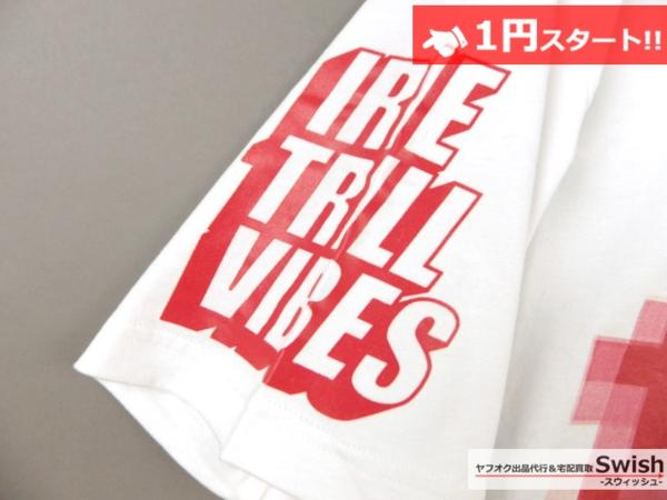 A895●Been Trill ビーントリル●新品 TEE モザイク Tシャツ L 白●_画像3