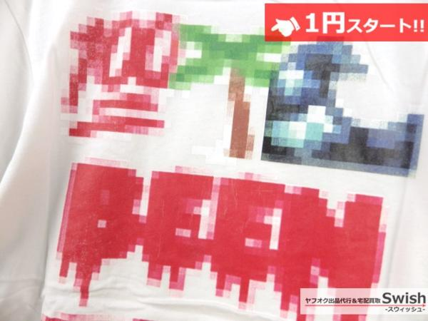 A895●Been Trill ビーントリル●新品 TEE モザイク Tシャツ L 白●_画像5