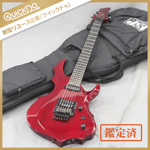 ESP FOREST-GT フォレストシリーズ エレキギター 弦楽器 ダンカンPU シースルーレッド ソフトケース付属