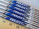 美品 Truetemper RIFLE PROJECT X STEEL 5.5 5I~Pw 6本 トゥルーテンパー ライフル プロジェクトX