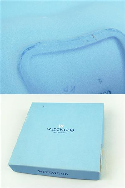 1円~ ウェッジウッド グレンミスト オクタゴナルディッシュ ジャスパープレート 3枚セット 中古_画像6