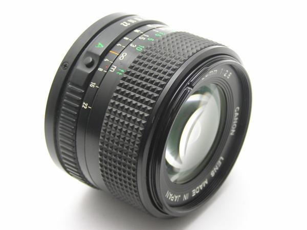 ★ハロ-カメラ★5704 Canon New FD 24mm F2.8  動作品 マニュアル用 現状_画像2