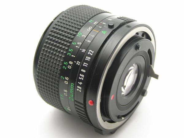 ★ハロ-カメラ★5704 Canon New FD 24mm F2.8  動作品 マニュアル用 現状_画像9
