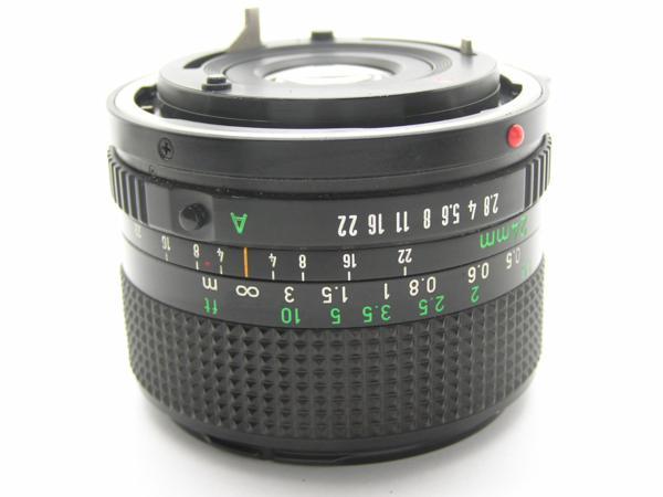 ★ハロ-カメラ★5704 Canon New FD 24mm F2.8  動作品 マニュアル用 現状_画像5
