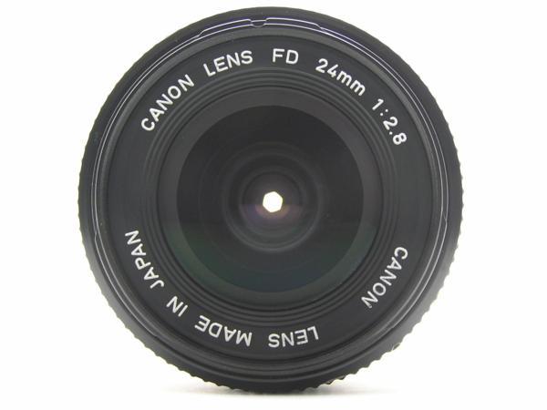 ★ハロ-カメラ★5704 Canon New FD 24mm F2.8  動作品 マニュアル用 現状_画像3