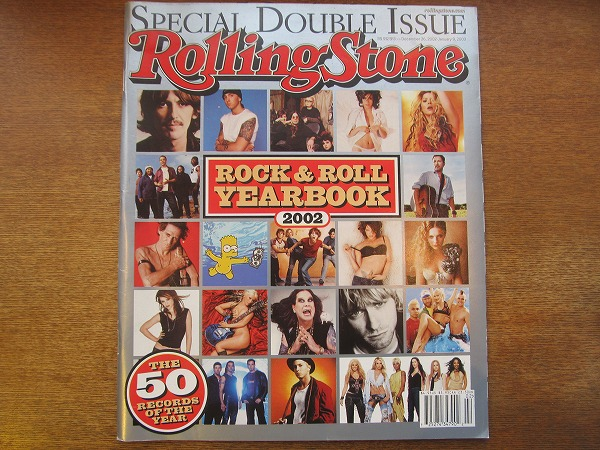 1710MK●洋雑誌 Rolling Stone ローリングストーン 912-913/2002.12.26-2003/1.9●ROCK&ROLL YEAR BOOK 2002/50 RECORDS OF THE YEAR_画像1