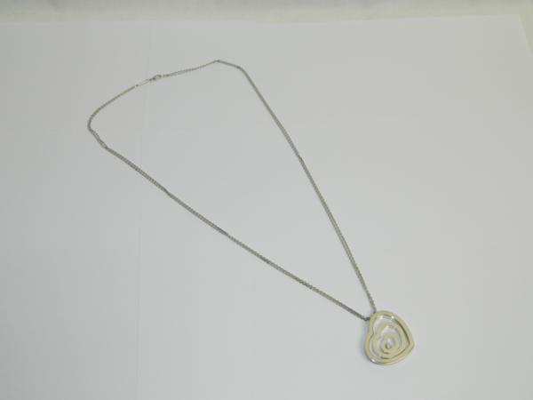 保証書 ショパール K18WG ダイヤ ダブルチェーン ネックレス  _画像10
