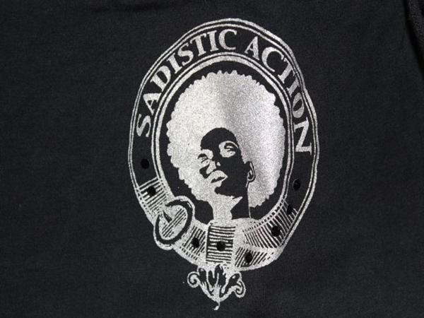 サディスティックアクション SADISTIC ACTION レディースチュニックワンピース ブラック Sサイズ NO1 新品_画像4