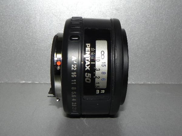 **中古良品 PENTAX-FA 50mm/F1.4 レンズ*_画像1