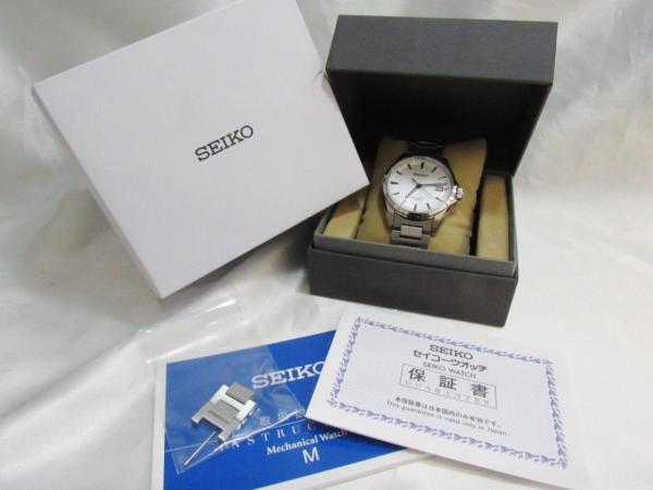 セイコー SEIKO プレサージュ メカニカル 自動巻き 腕時計 SARX013 保証有_画像2