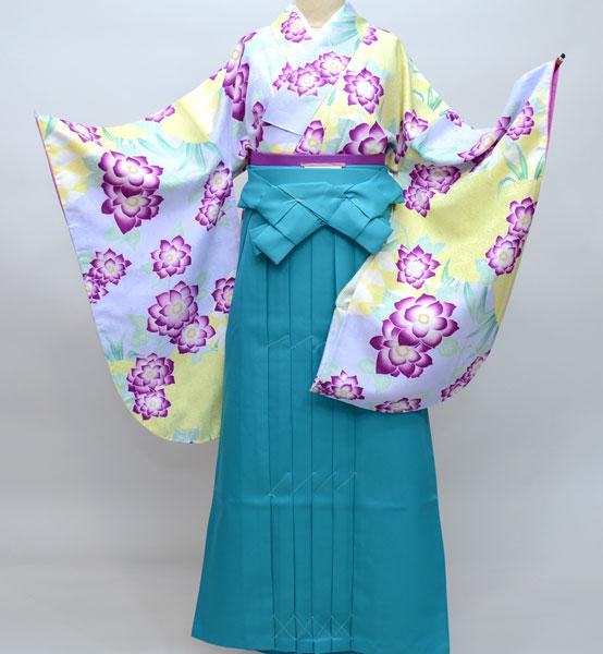 二尺袖 着物袴フルセット ひさかたろまん 卒業式に 新品 (株)安田屋_画像1