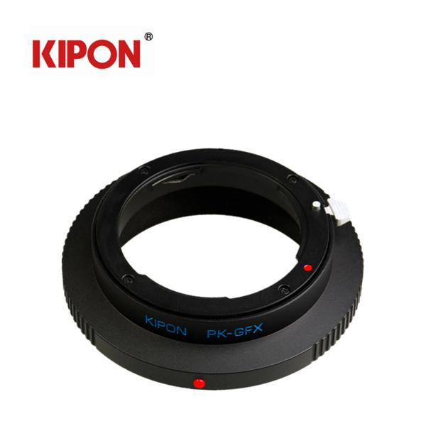 KIPON PENTAX K P/Kマウント レンズーFujifilm GFX 50s PK-GFX アダプター