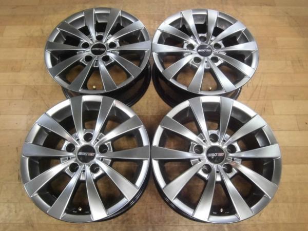 社外品 MOTEC GLEN モーテック グレン 4本 5H-120 16×7J+20 BMW 5シリーズ E39 スタッドレス用ホイールにも!_画像1