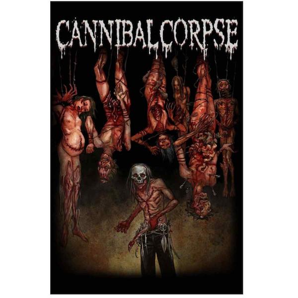 海外限定 公式 CANNIBAL CORPSE カンニバル 特大布ポスター G158