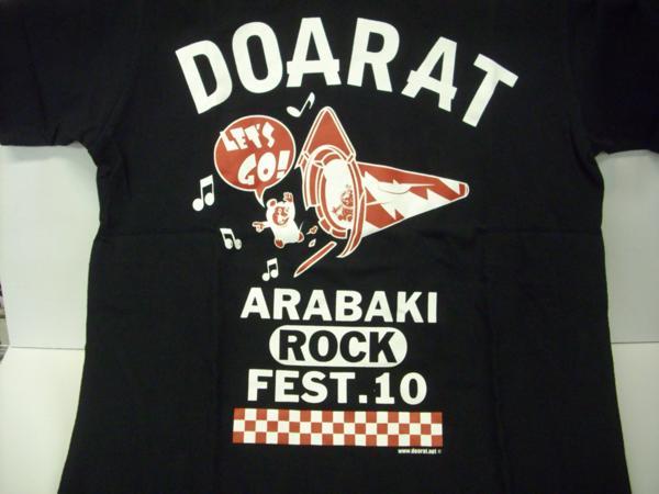 ■Tシャツ DOARAT / ARABAKI ROCK FEST.10