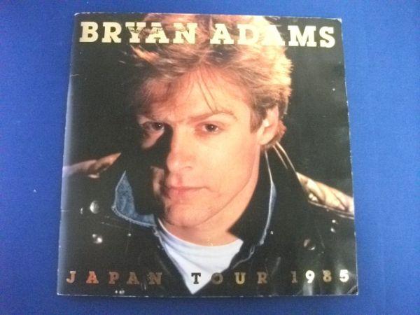 □ツアーパンフ/ブライアンアダムスJAPAN TOUR 1985 δ□