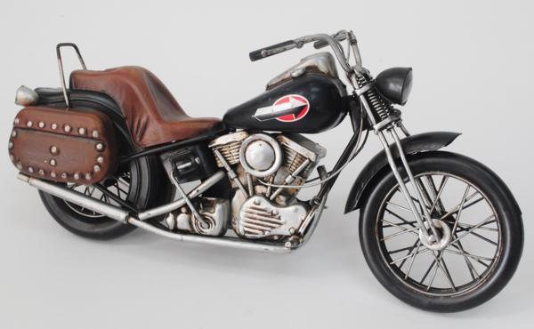 【ブリキのおもちゃ】バイク-03  完成品σ-8