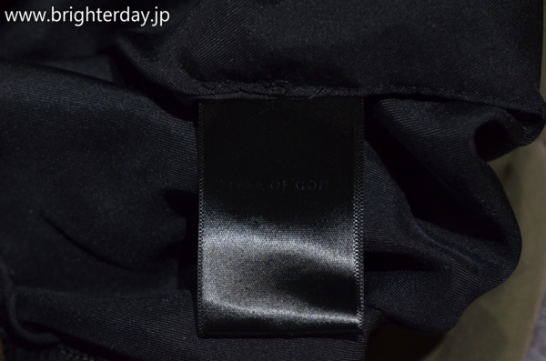 ■FEAR OF GOD ボンバージャケット MA-1 2nd ■フィアーオブゴッド_画像8