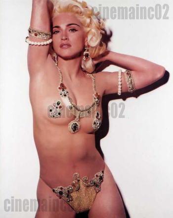 即決!マドンナ Madonna、セクシー衣装の写真 ライブグッズの画像